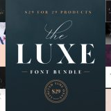 The Luxe Font Bundle