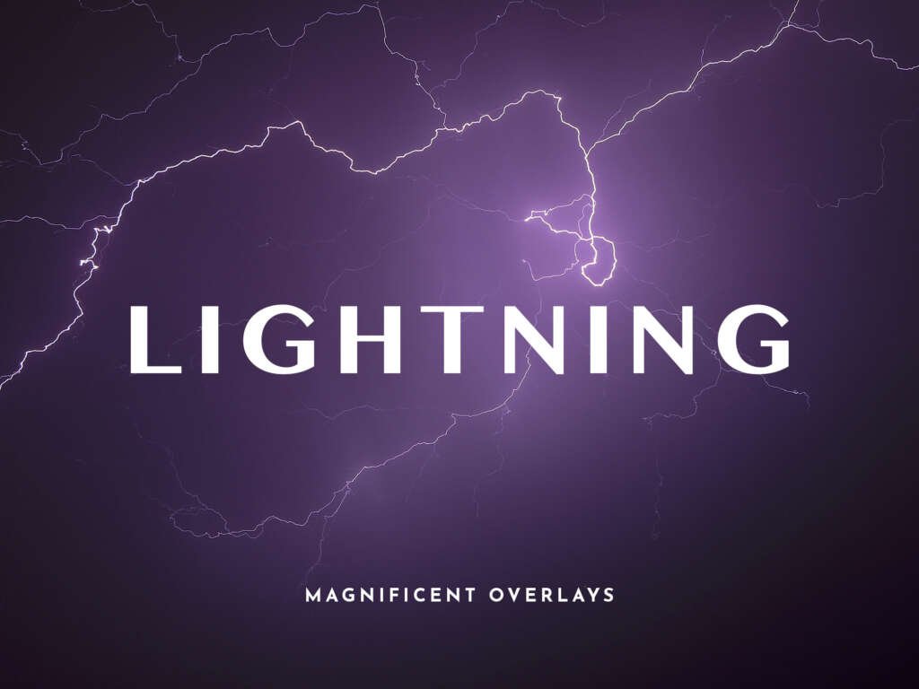 MAGNIFICENT LIGHTNING OVERLAYS