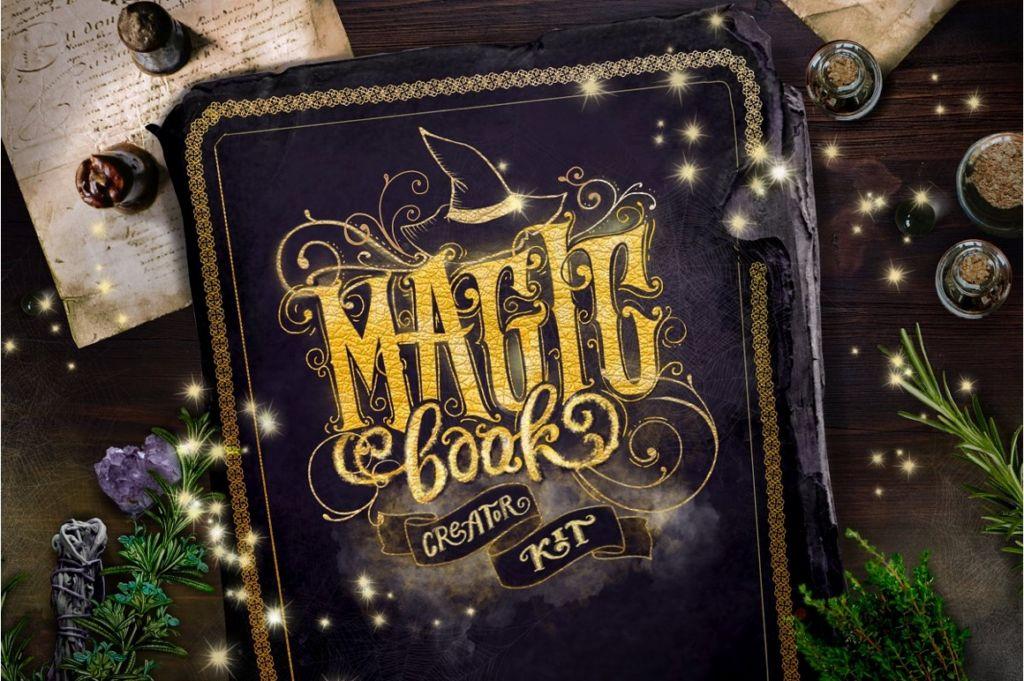 Magic Book Creator Kit