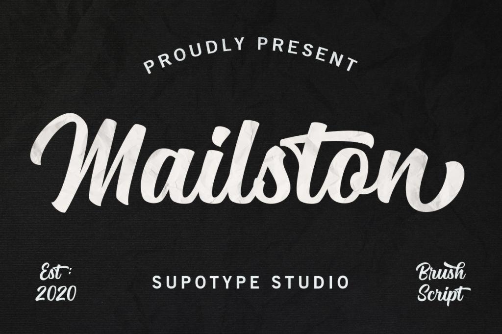 Mailston Script