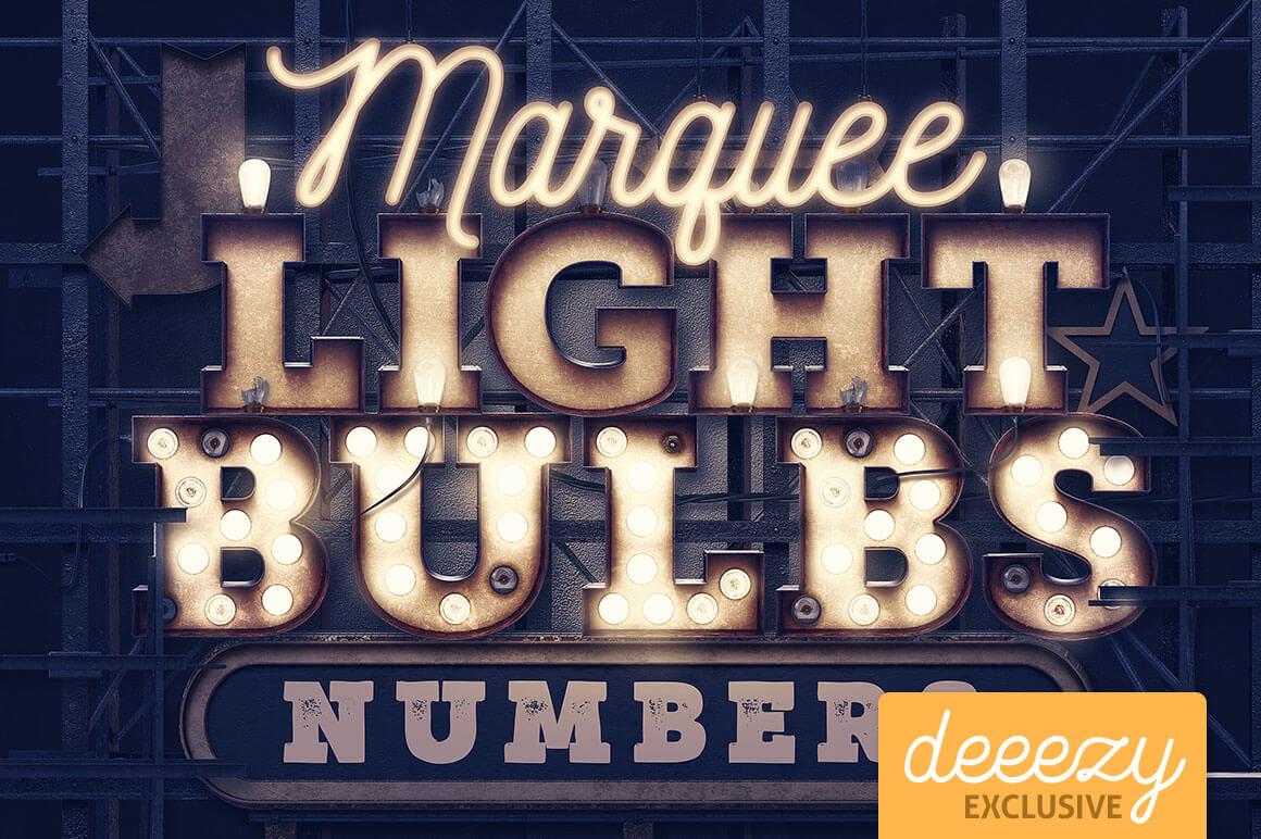 MarqueeLightBulbs3Dnumbers1