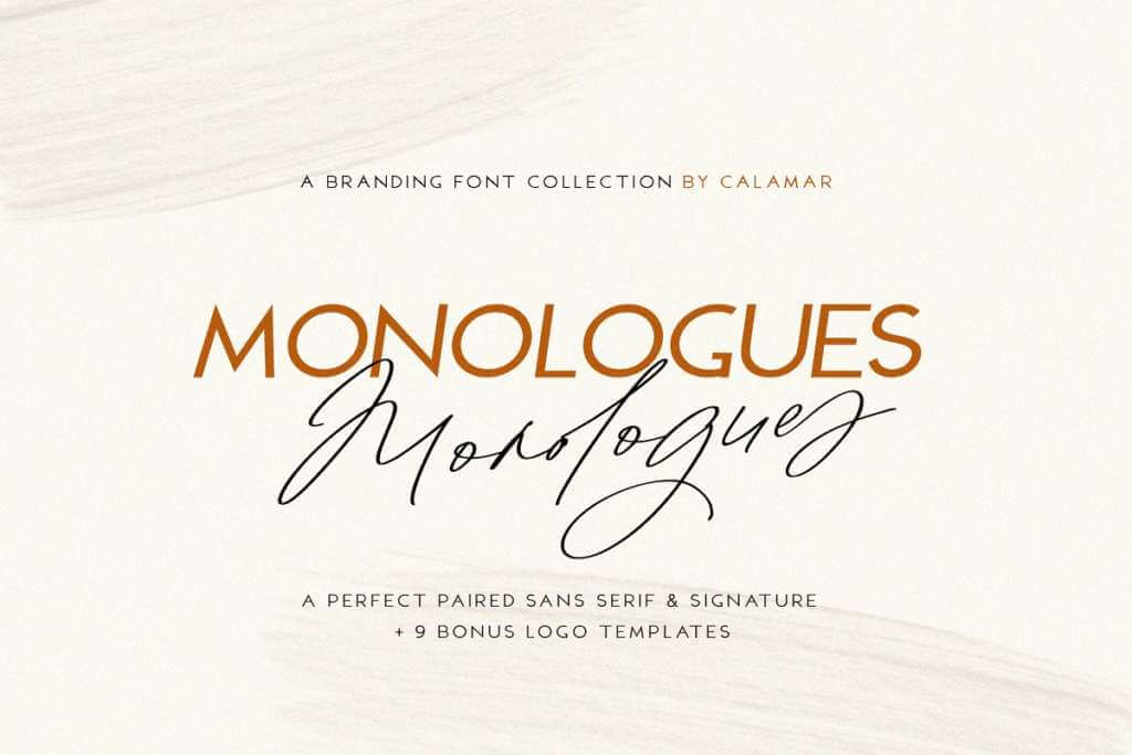 Monologues Font Duo