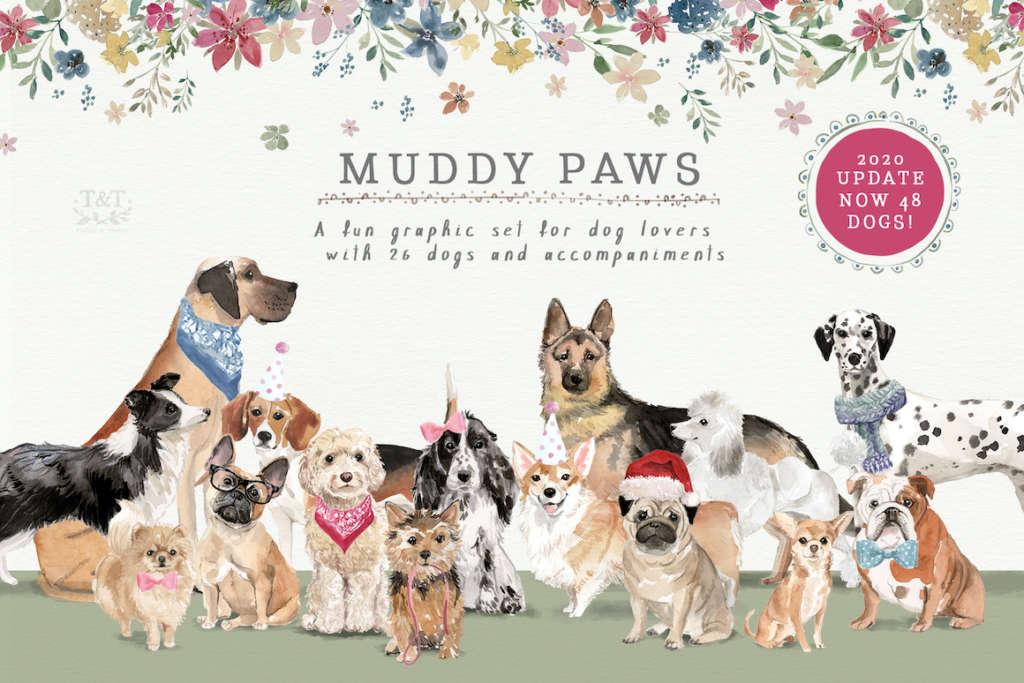 Muddy Paws Volume 1