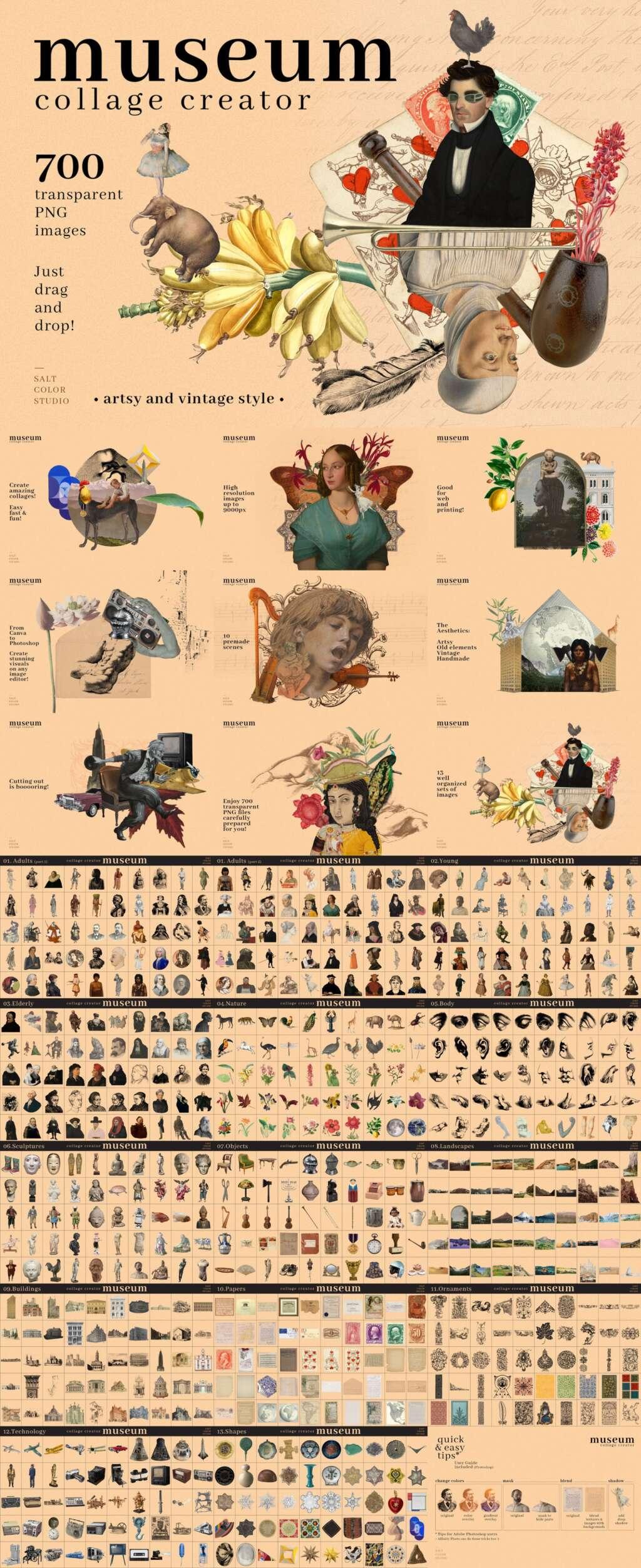 Museum Collage Creator