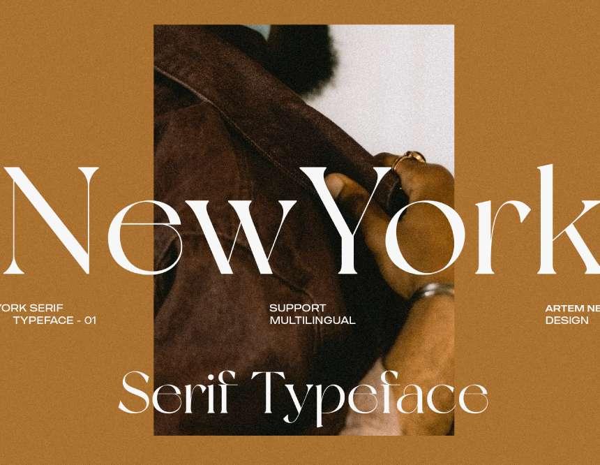 NEW YORK - FREE FONT