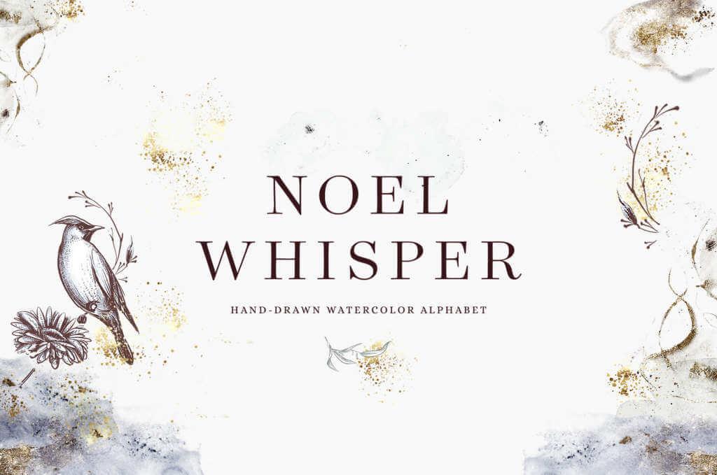 Noel Whisper Watercolor Set