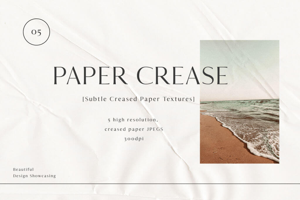 PAPER CREASE TEXTURES