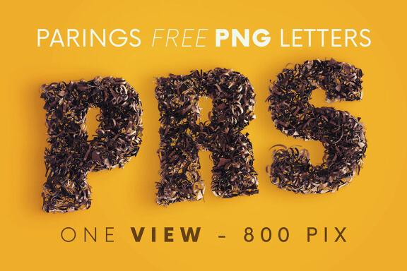 Parings - Free 3D Lettering