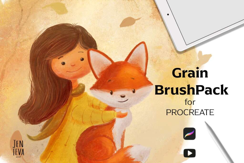 Procreate Grain Brushes