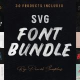 The SVG Font Bundle