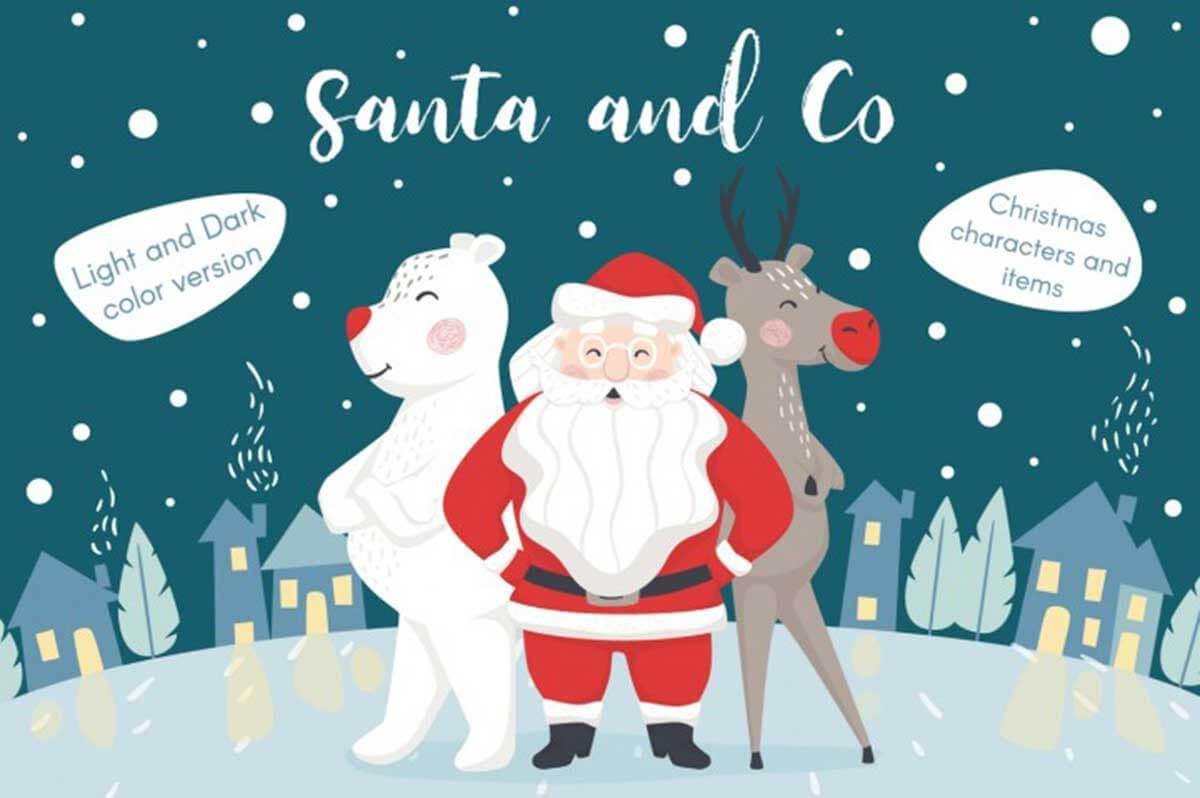 Santa and Co