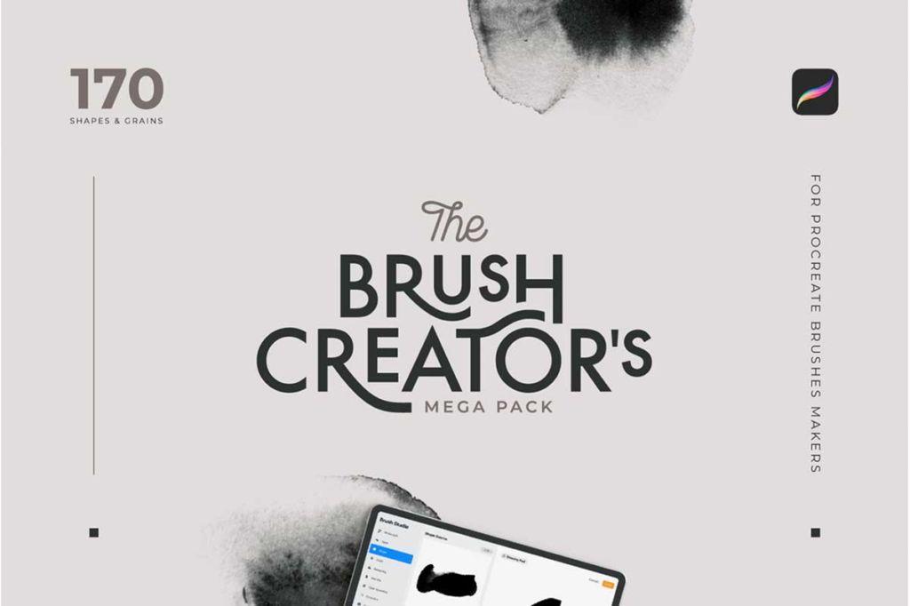 SHAPES & GRAINS FOR BRUSH CREATORS