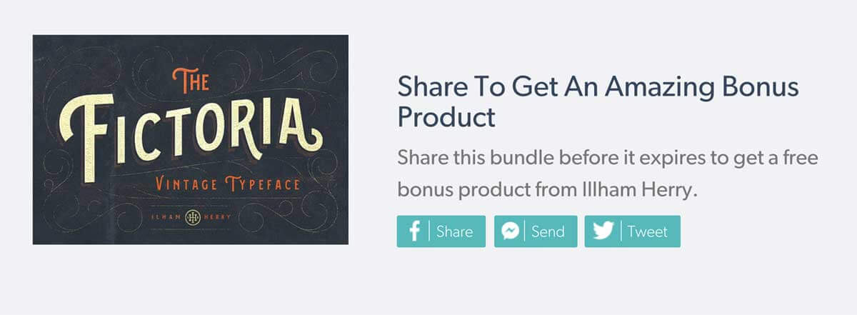 Share To Get An Amazing Bonus Product