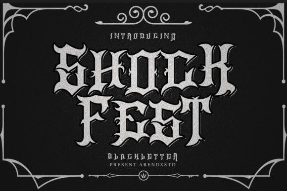 Shock Fest Font