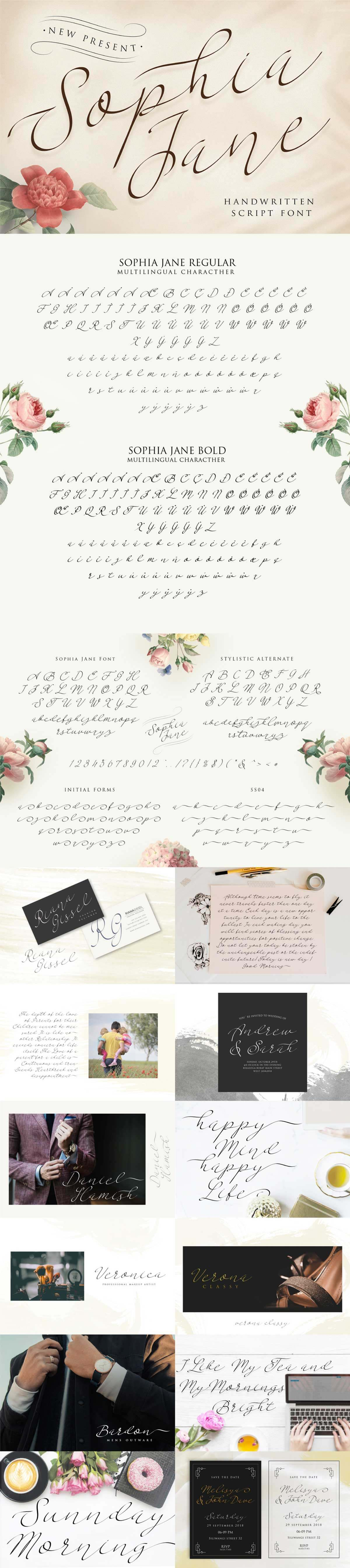 Sophia Jane - Storic Type