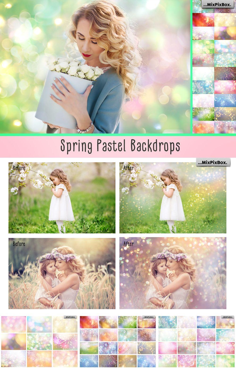 Spring Backdrops