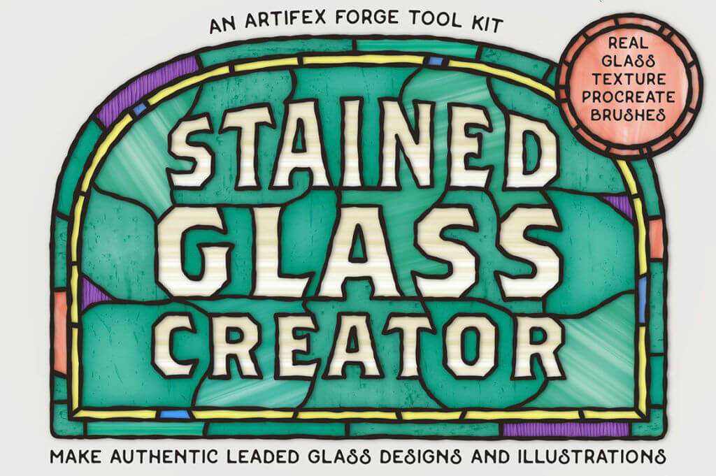 Stained Glass Creator – Procreate