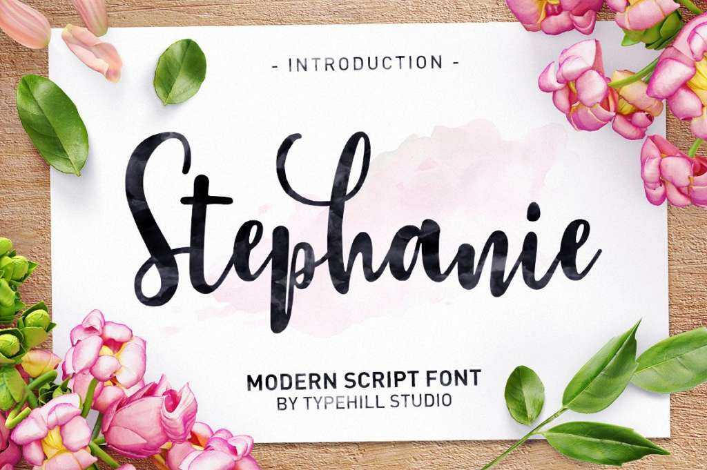 Stephanie Script