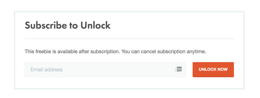 Subscribe to Unlock