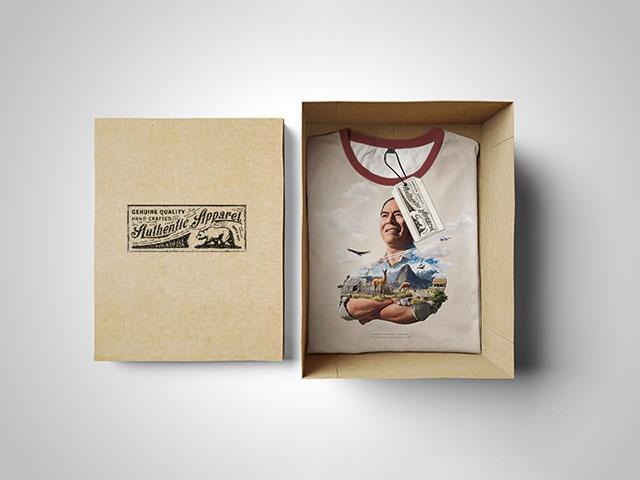 T-SHIRT MOCKUP: BOX EDITION