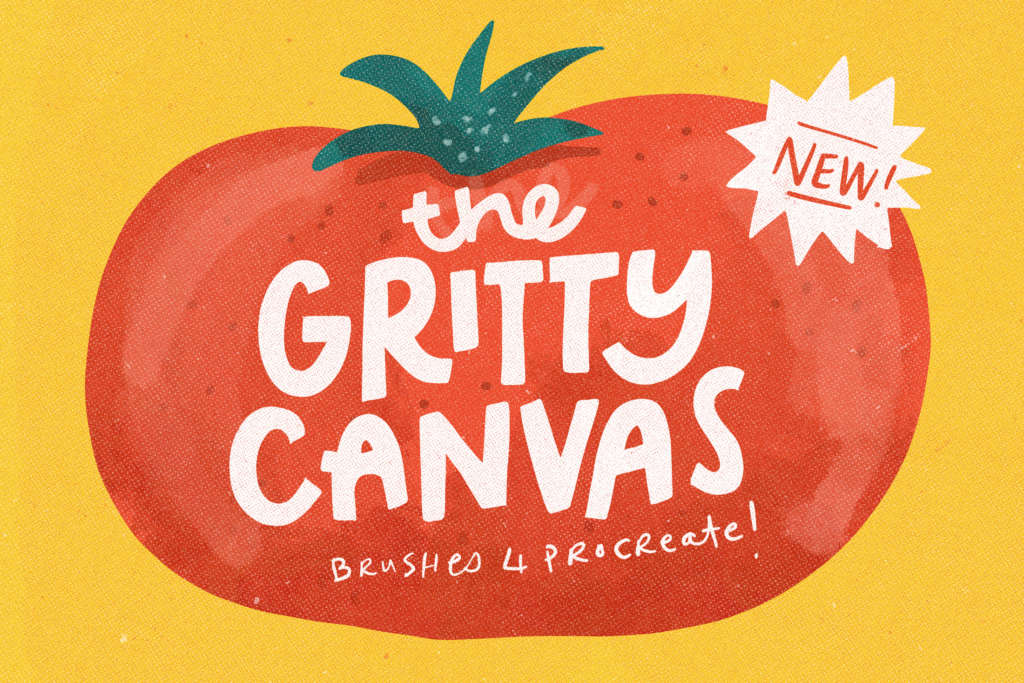 THE GRITTY CANVAS TEXTURE BRUSHES FOR PROCREATE