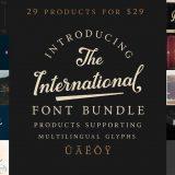 The International Font Bundle
