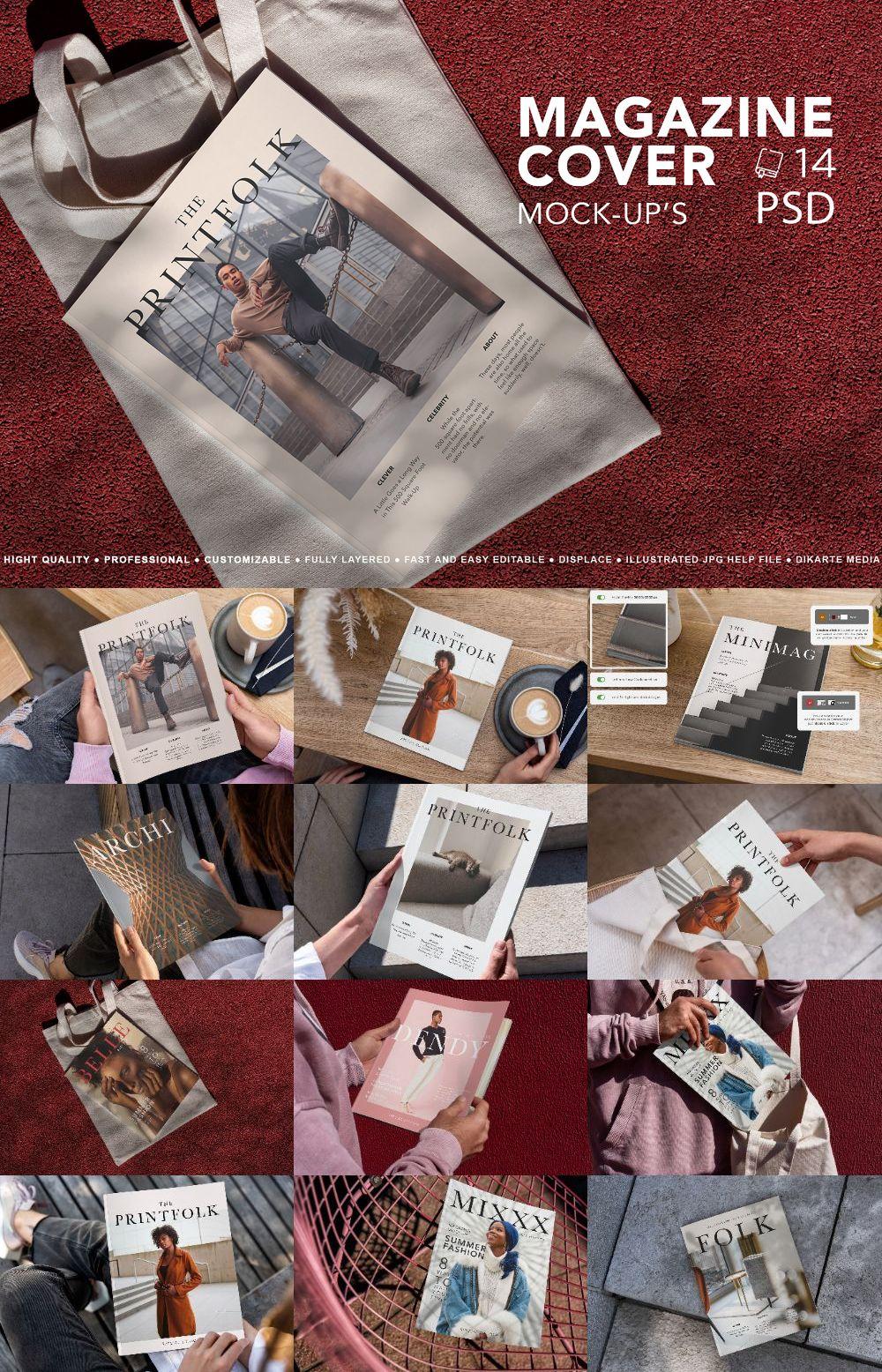 Magazine Cover Mock-Up