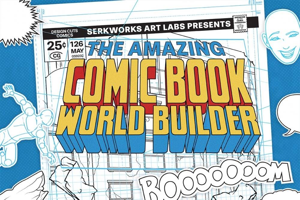 The Amazing Comic Book World Builder