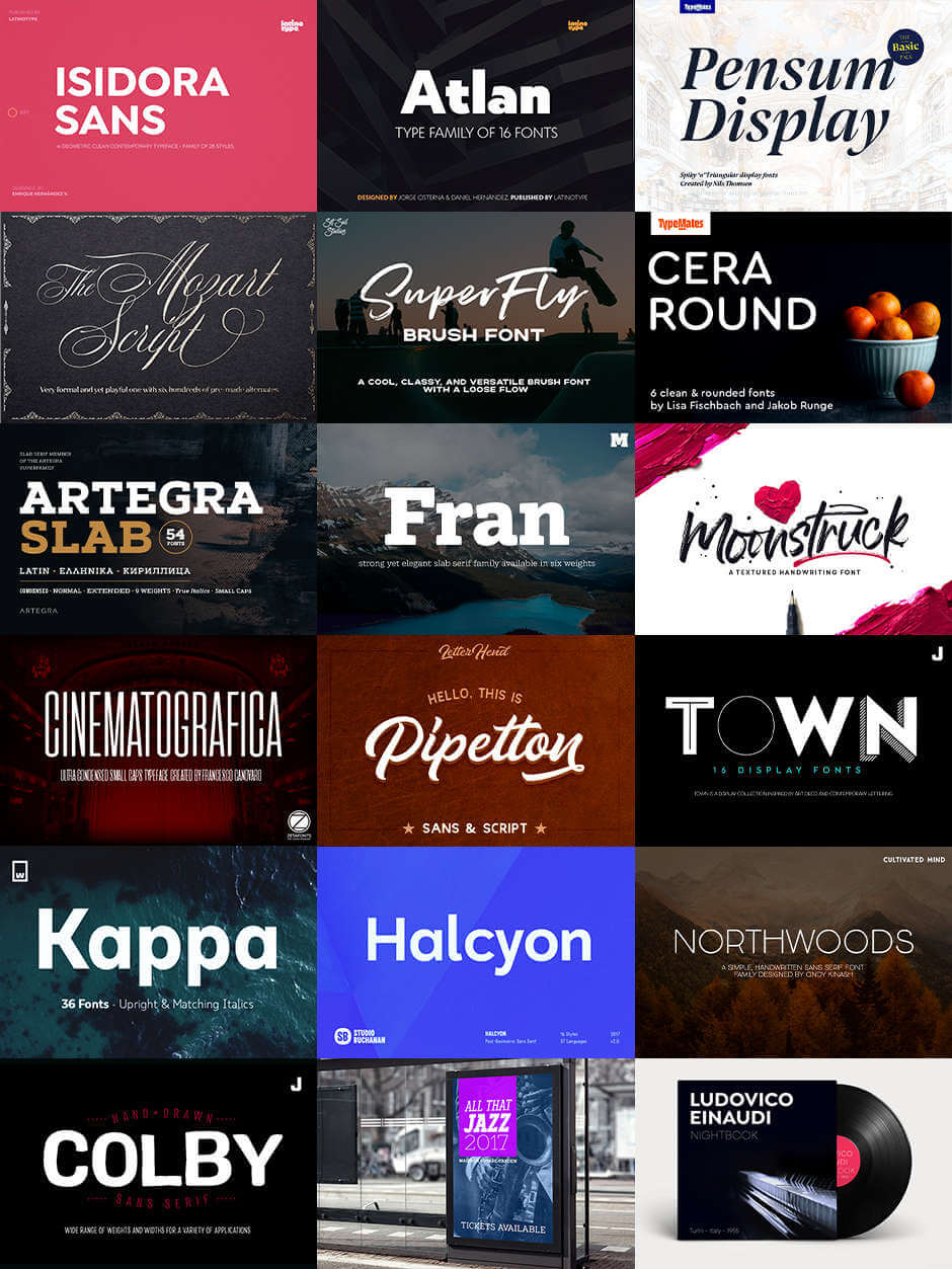 The Creative's Spectacular Typography Set