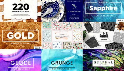 Design Cuts(デザインカッツ)の劇的テクスチャ&パターン素材集