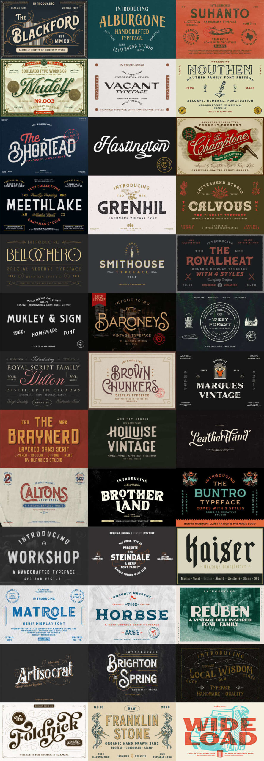 The Ultimate Vintage Collection