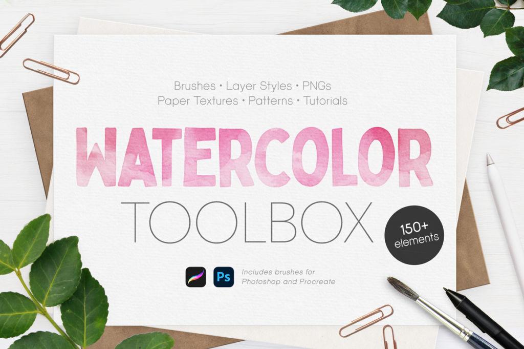 Ultimate Watercolor Toolbox