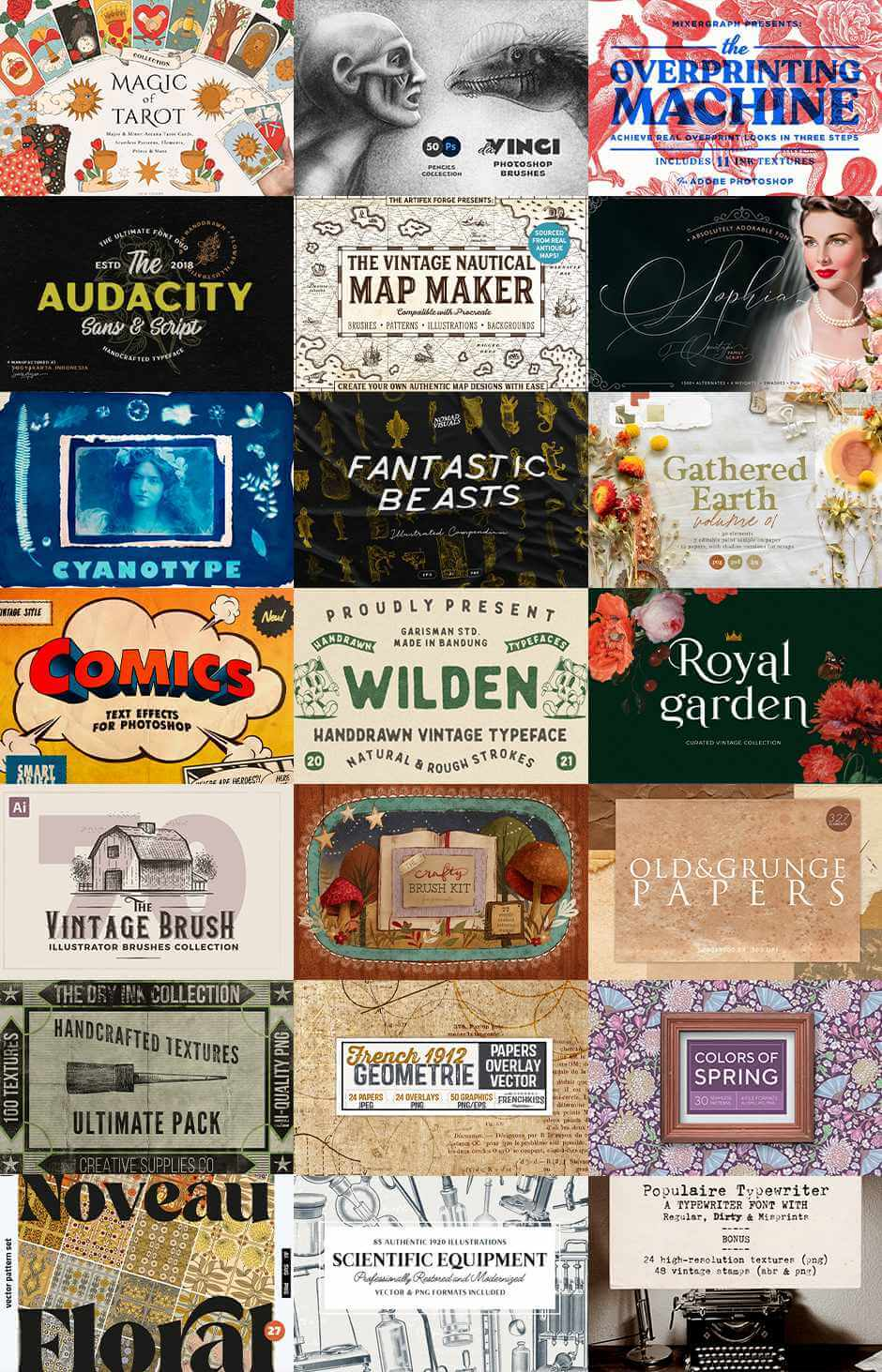 The Vintage Lover's Creative Arsenal