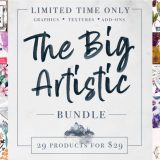 The Big Artistic Design Bundle