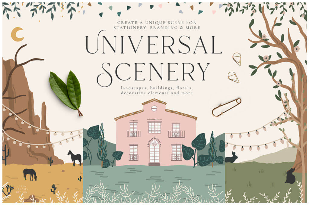 UNIVERSAL SCENERY COLLECTION