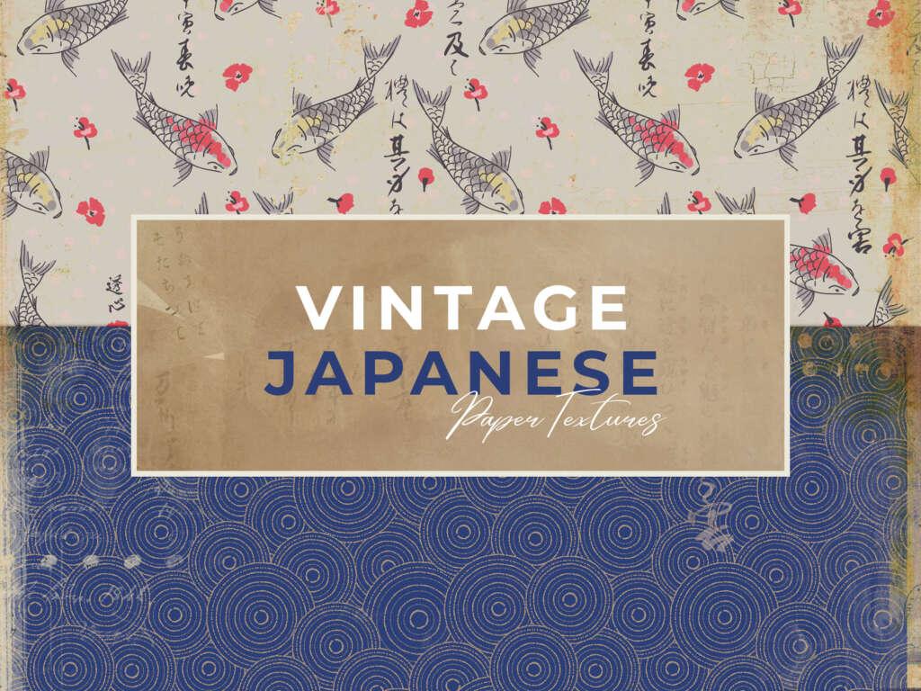 VINTAGE JAPANESE PAPER TEXTURES