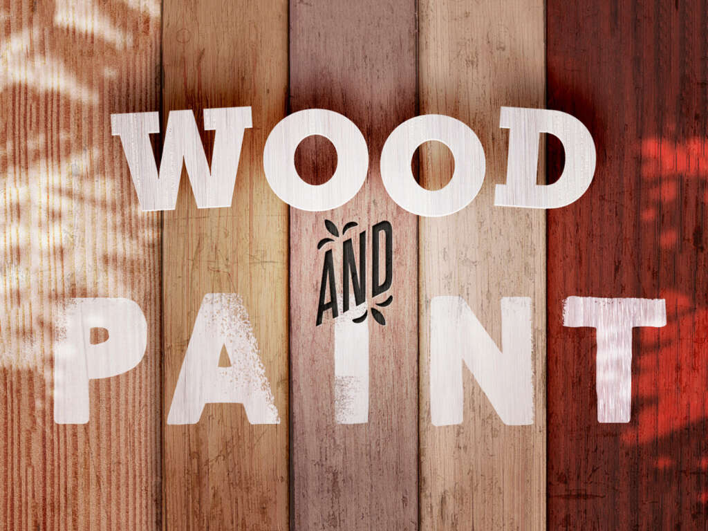 WOOD AND PAINT FREE TEXTURES