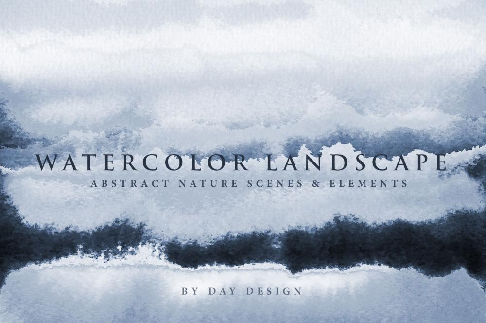 Latest Addition – Free: Watercolor Landscape 2