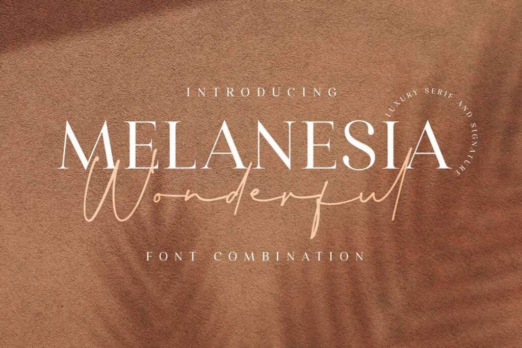 Wonderful Melanesia - Font Duo