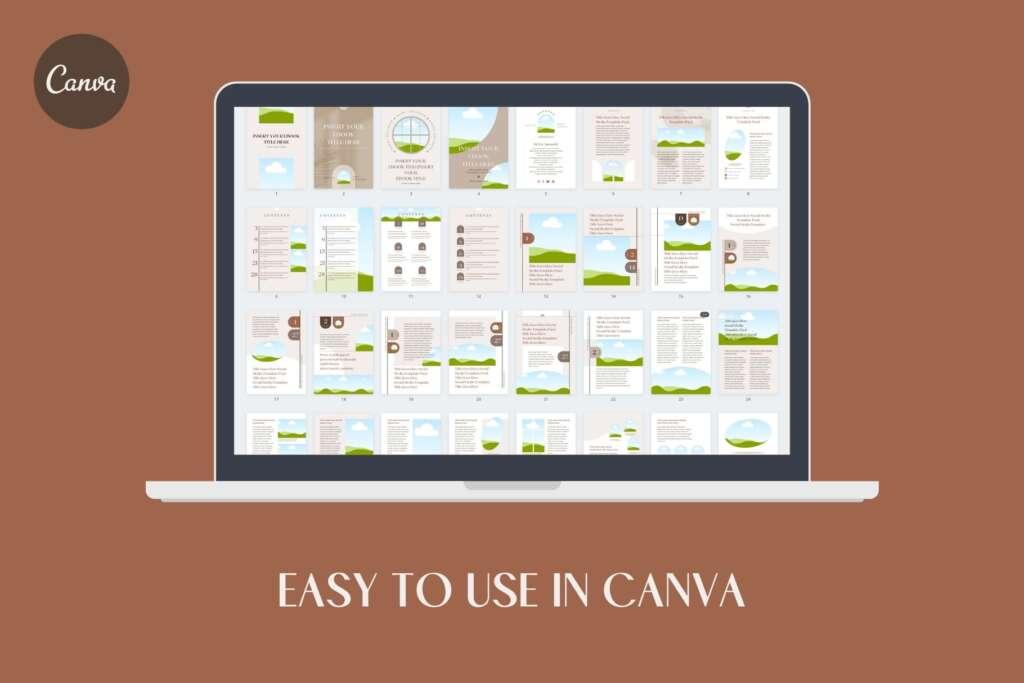 A4縦位置eBookテンプレート60点セット - Shadow