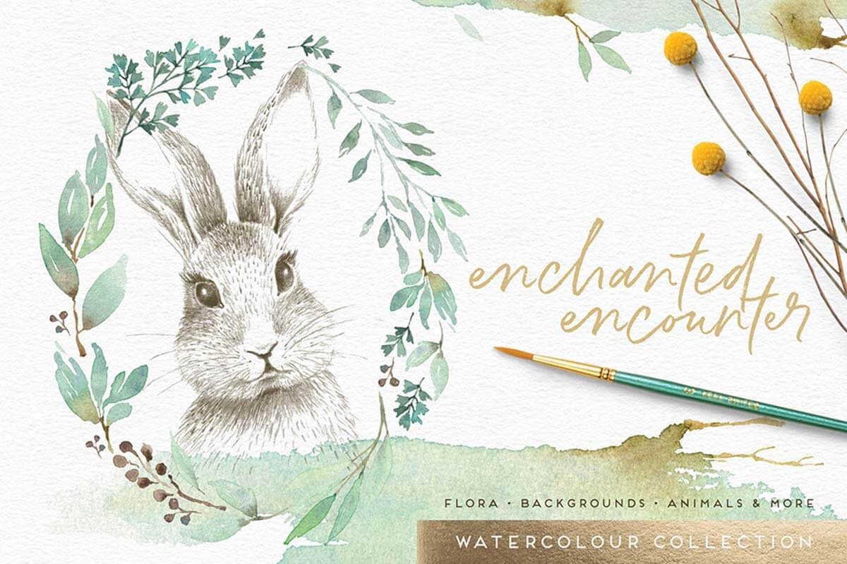 ENCHANTED ENCOUNTER WATERCOLOUR SET