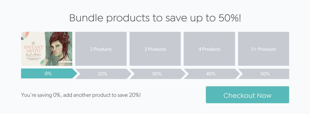 bundle products to save up to 50%