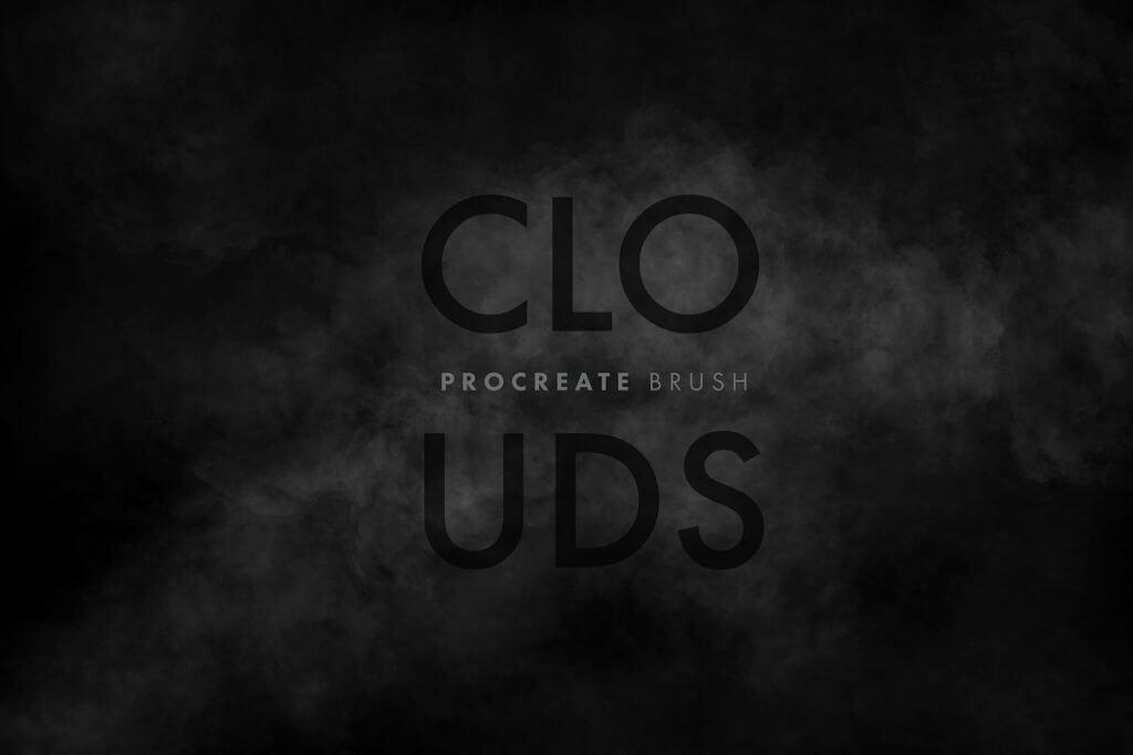 "FREE Procreate ""Cloud"" Brush Pack"