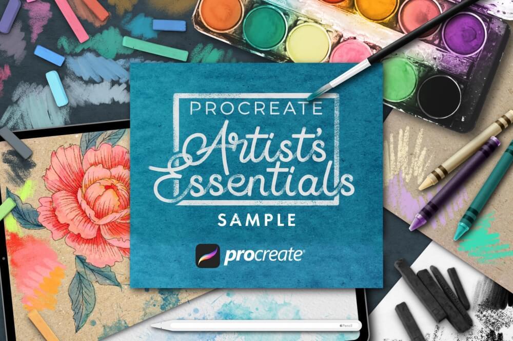 Free: Artist's Essentials For Procreate Sample