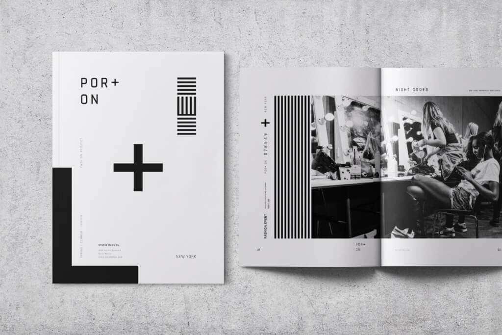 Por + On — Lookbook / Brochure