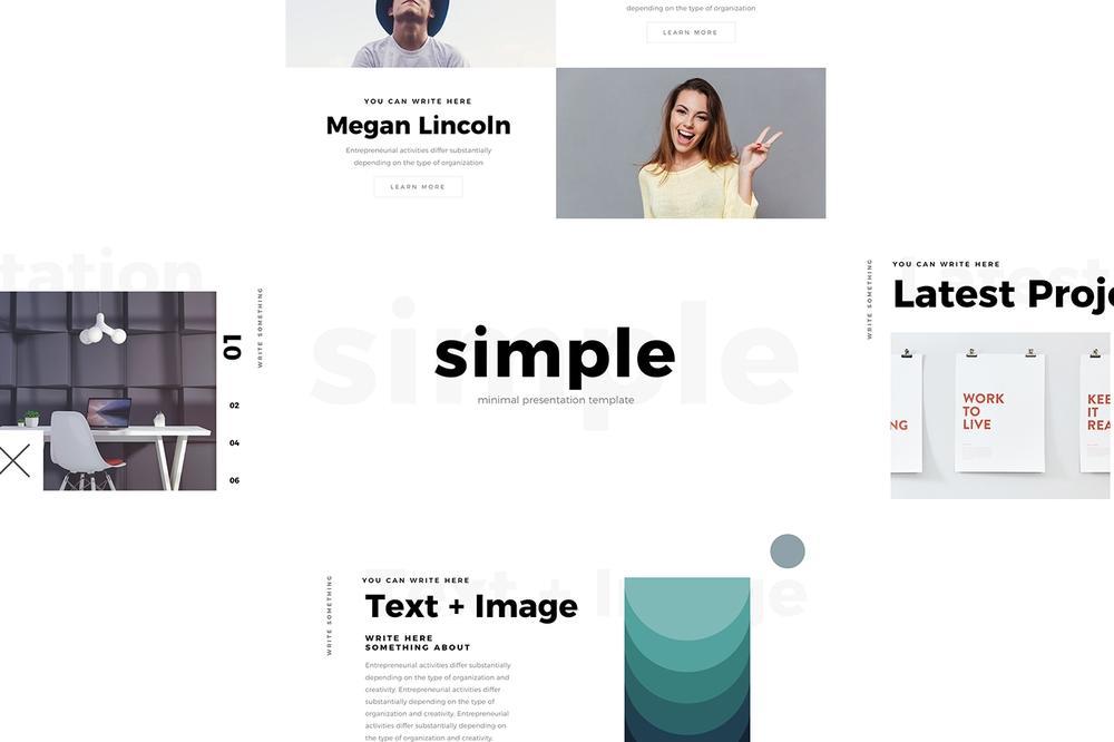Free Simple Minimal Keynote Template