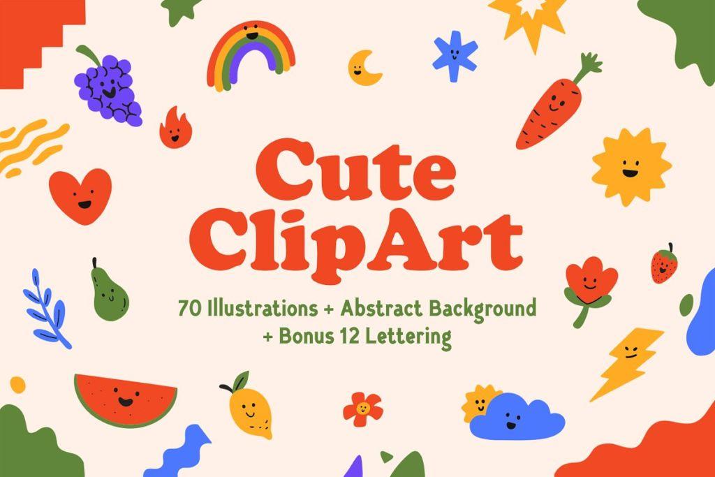 Cute Clip Art Illustration