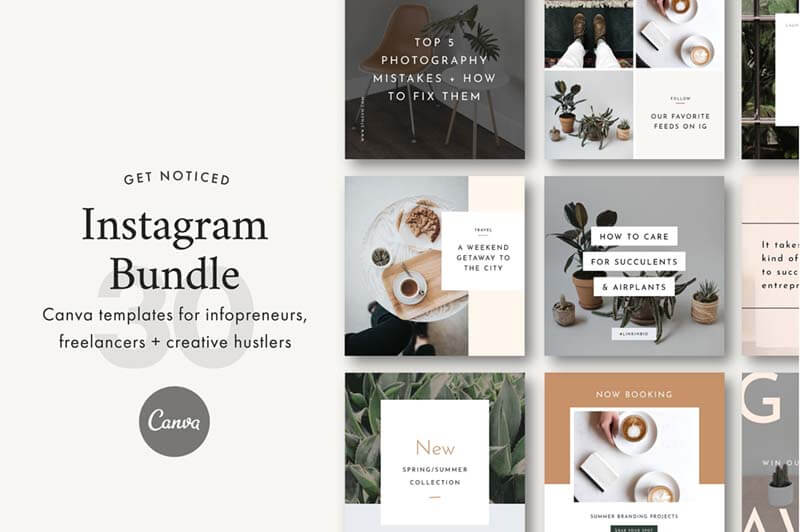 Instagram Canva Bundle