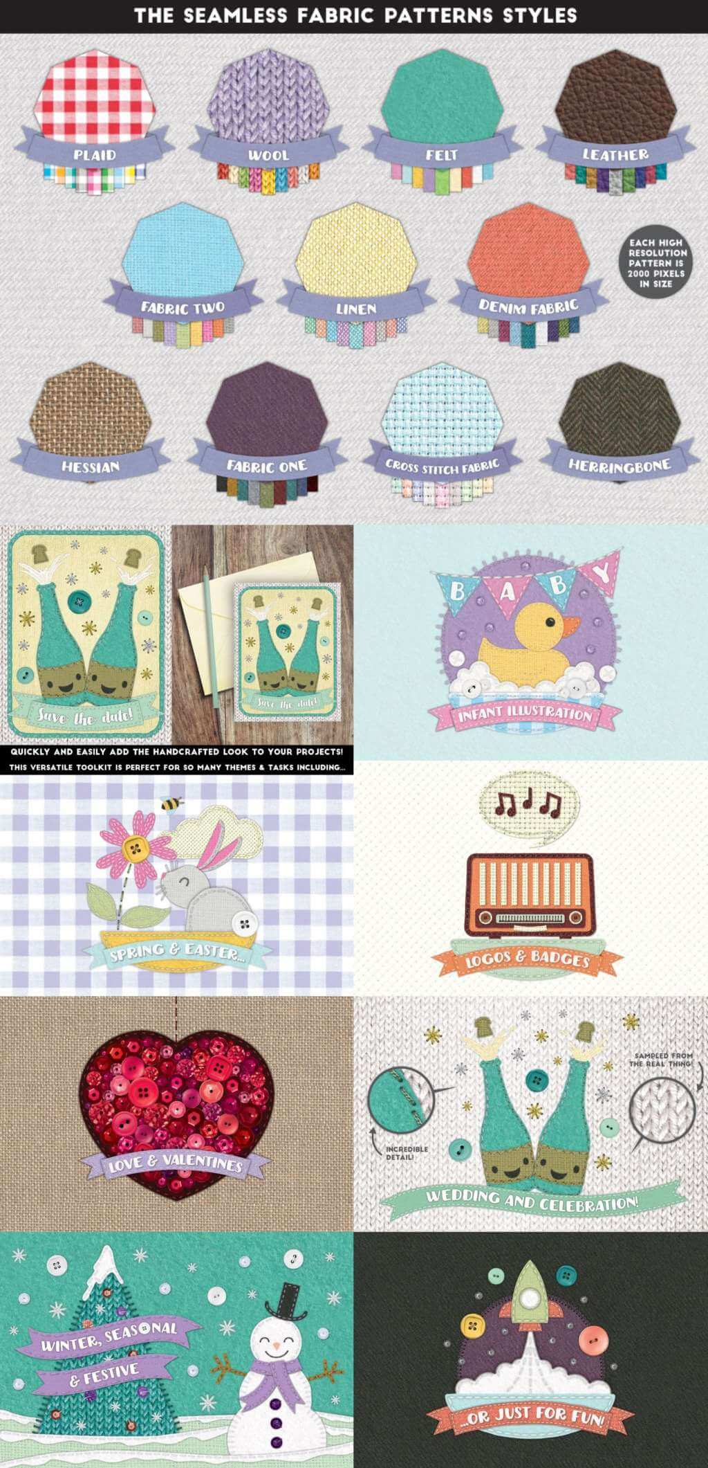 Stitch Craft – Brushes & Styles for Affinity