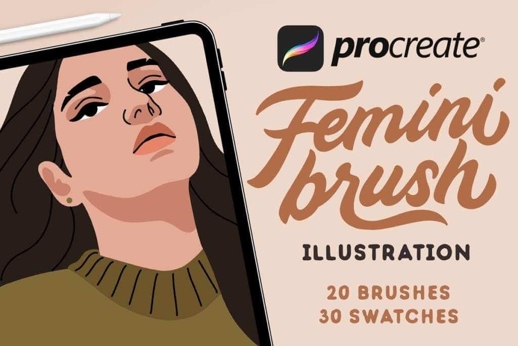 FeminiBrush - Procreate Brushes